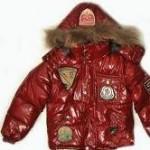Chłopięca kurtka na zimę