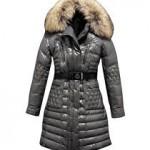 Długa kurtka zimowa